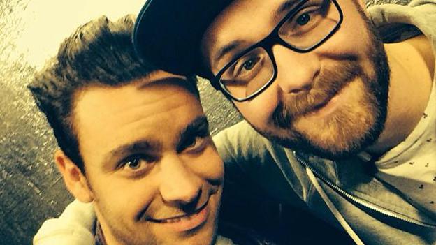 Michel Birri (links) und Mark Forster.