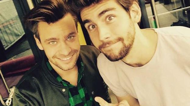 Michel Birri (links) und Álvaro Soler.