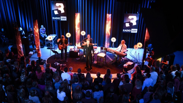 SRF 3 Showcase mit Robbie Williams