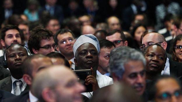 Staatsvertreter an der WHO-Konferenz