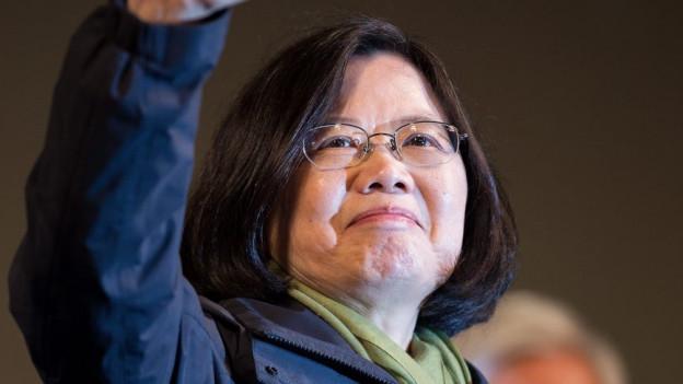 Das neue Gesicht in Taiwan: Tsai Ing Wen