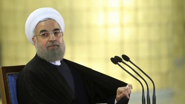 """Präsident Rohani: """"Glorreicher Sieg des iranischen Volkes"""""""
