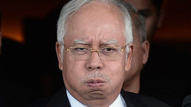 Najib Razak unter Druck