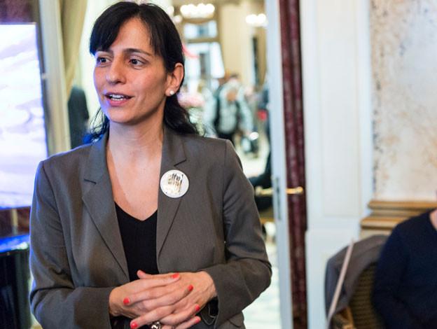 Unia-Präsidentin Vania Alleva verteidigt den 1. Mai mit Vehemenz