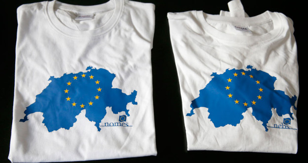 """Die Neue Europäische Bewegung Schweiz, NEBS, will auch weiterhin """"rasch"""" der EU beitreten."""