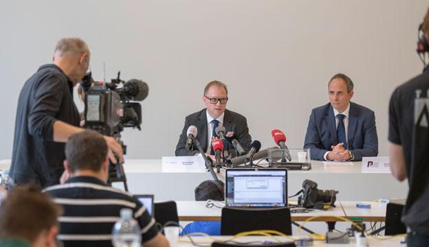 Die Solothurner Behörden informieren, wie sie den Knaben Paul wieder gefunden haben.