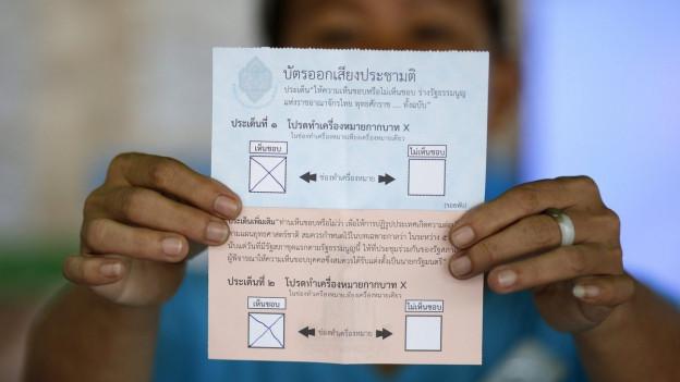 Neue Verfassung: Ja oder Nein?