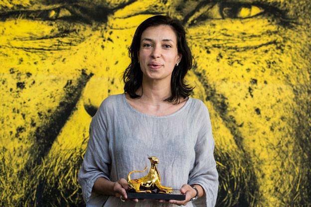 """Die Bulgarin Ralitza Petrova hat für Ihren Film """"Godless"""" in Locarno den Goldenen Leoparden erhalten."""