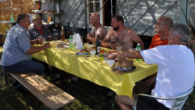 Sprachenmix am Schwingfest