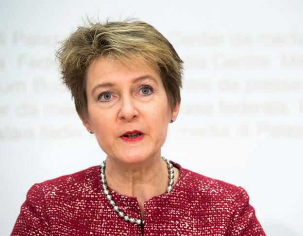 Justizministerin Simonetta Sommaruga sieht die Schweiz in einer guten Position für die Verhandlungen mit der EU.