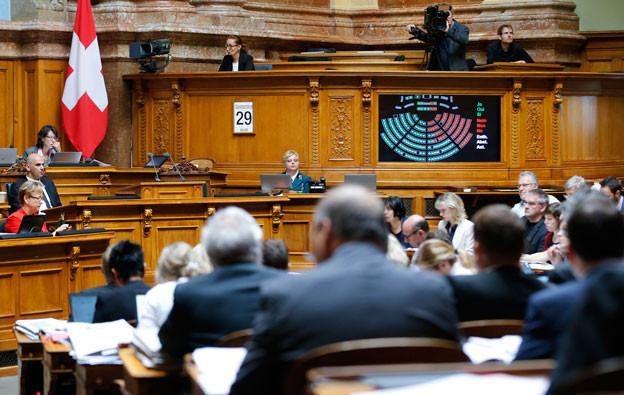 Welche Partei spielt in der Diskussion um die Altersvorsorge im Parlament wohl das Zünglein an der Waage?