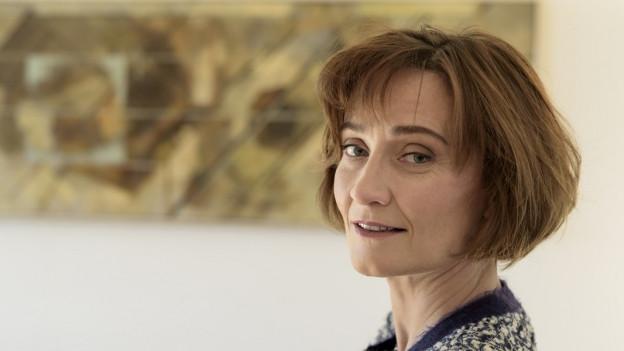 Staatssekretärin Pascale Baeriswyl für Meinungsfreiheit.