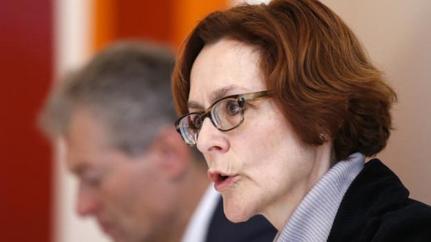 Monika Ruehl von Economiesuisse zeigt sich selbstkritisch.