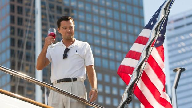 "Leonardo di Caprio spielte Gordon Belfort im Film ""Wolf of Wall Street""."