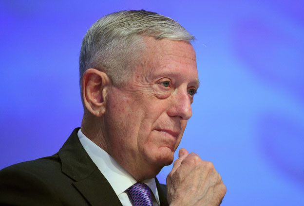US-Verteidigungsminister Mattis sprach in Singapur - und vermochte die dortigen Partnerländer nicht vom US-Engagement überzeugen.