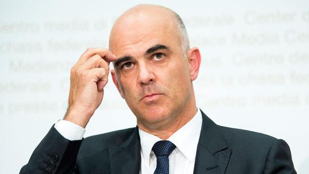 Alain Berset, Bundesrat