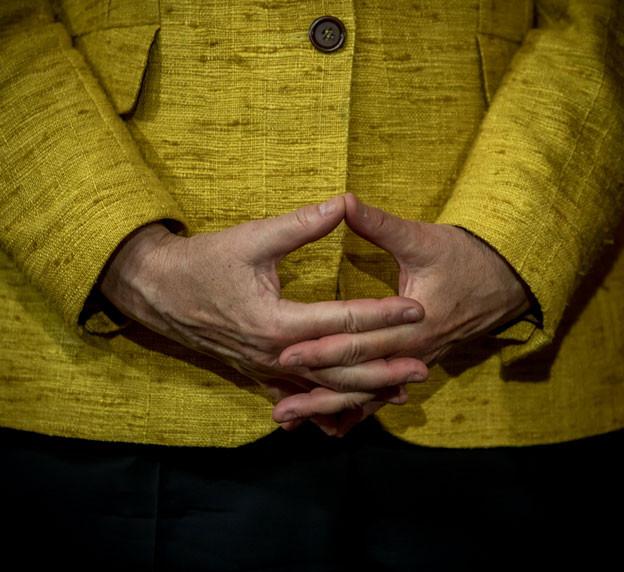 In Deutschland wird morgen gewählt - Kanzlerin Angela Merkel kann dem Resultat laut Umfragen gelassen entgegensehen.