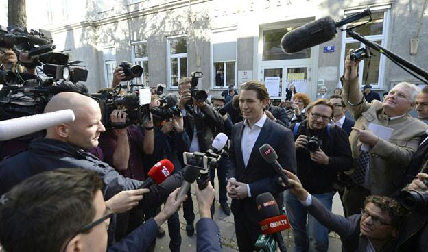 Sebastian Kurz könnte nach dem Wahltag heute jüngsten Regierungschef eines europäischen Landes werden.