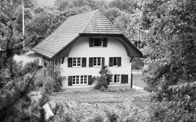 In diesem Haus in Oberburg bei Burgdorf soll die P26 ihre Zentrale gehabt haben, Akten aus dieser Zeit sind nun spurlos verschwunden.