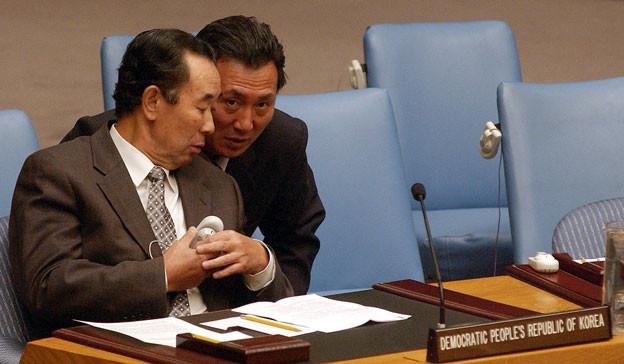 Nordkoreanische Uno-Diplomaten: Ihr Land hat die von der Weltorganisation verhängten Sanktionen massiv umgangen.