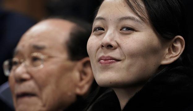 Nordkorea zeigte sich an den Olympischen Spielen in PyeongChang von der charmanten Seite - massgeblich daran beteiligt war auch Kim Yong Nam, die Schwester des Nordkoreanischen Machthabers.