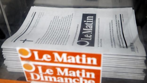 Die letzte Printausgabe der Boulevardzeitung.