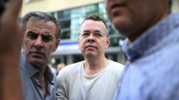 An ihm entzündet sich der Streit: Der verhaftete US-Pastor Andrew Bruns