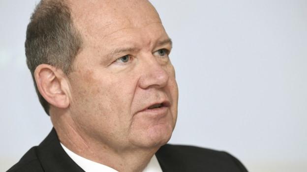 Arbeitgeber-Präsident Valentin Vogt ist unzufrieden mit den Gewerkschaften.