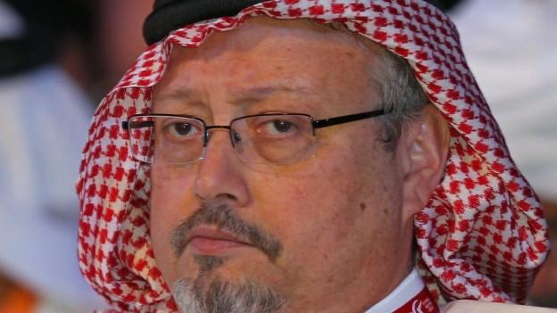 Der getötete Journalist Jamal Khashoggi
