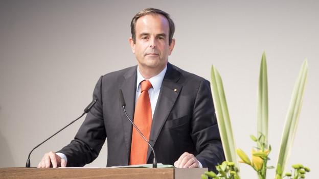 Für viele DER CVP-Bundesratskandidat: Parteipräsident Gerhard Pfister.