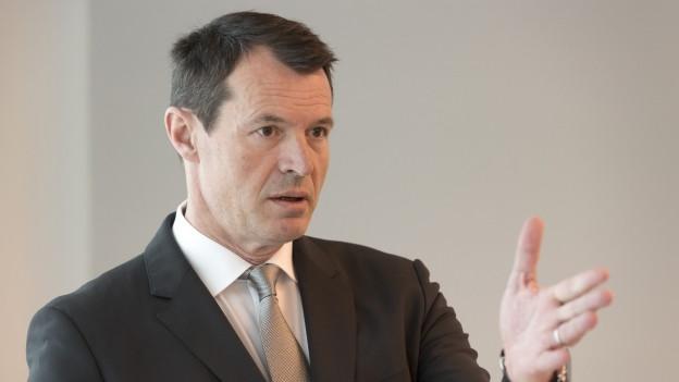 Gibt als Raiffeisen-Verwaltungsratspräsident neu die Richtung vor: Guy Lachappelle.