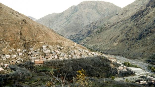 In diesem abgelegenen Dorf in Marokko wurden zwei Touristinnen aus Skandinavien von mutmasslichen IS-Terroristen umgebracht.