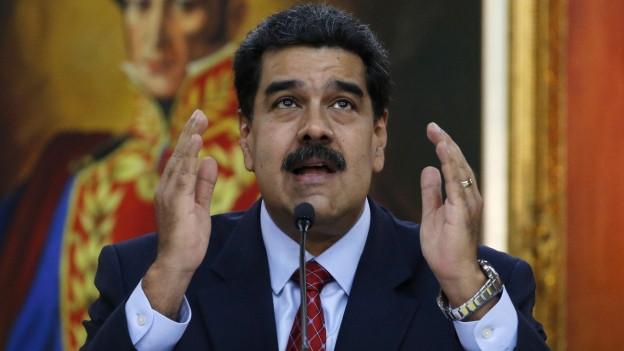 Nicolas Maduro in Caracas