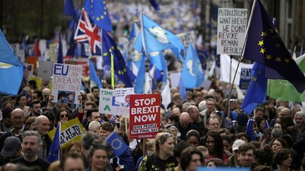 Aufmarsch in London