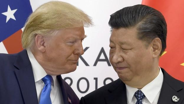 Haben weitere Gespräche zum Handelskonflitk vereinbart: Trump und Xi.