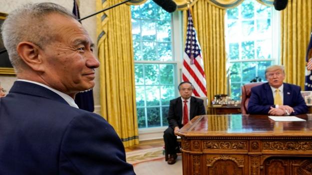Im Handelsstreit zwischen den USA und China kommt es zu einer ersten - kleinen - Entspannung.