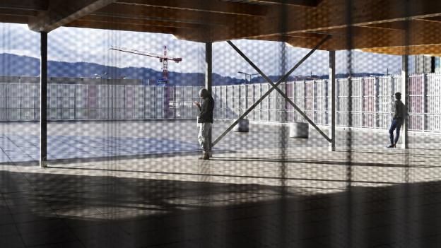 Das Bundesasylzentrum in Zürich
