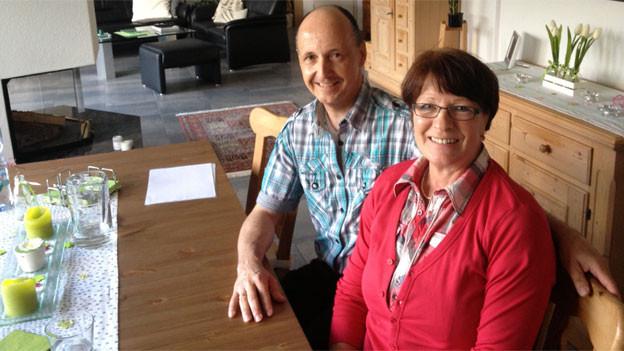 Der durchschnittliche Stimmbürger kann sich ein schönes Eigenheim leisten - Heinz und Rita Lehmann in Zofingen.