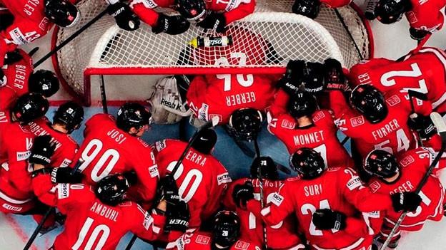 Teamspirit beim Schweizer Team
