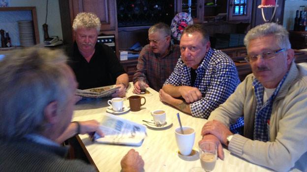 Stammtisch im Restaurant Alpenblick