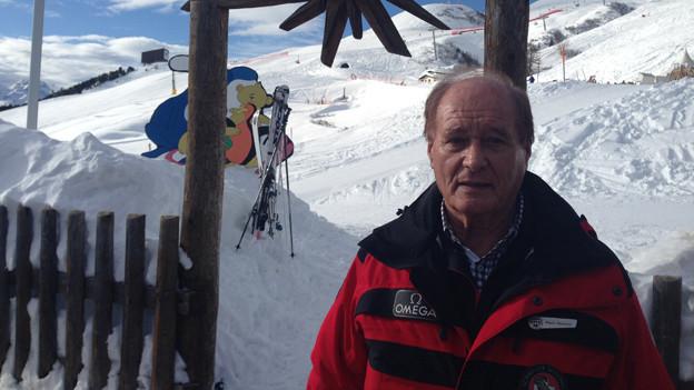 Arbeitet seit 60 Jahren als Skilehrer: Mario Ramponi.