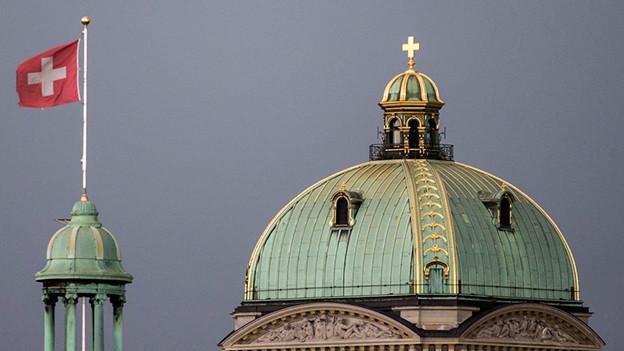 Das Ziel jedes Kandidaten: Das Bundeshaus in Bern.