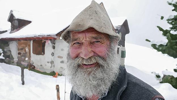 Not Schlegel war vor 60 Jahren im ersten Film Schellen-Ursli, im aktuellen ist er Alpöhi für alles.
