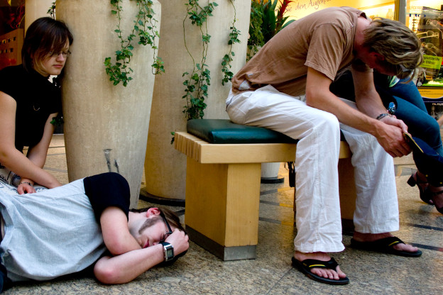 Leben in unserer Gesellschaft und schlafen passt nicht immer zusammen.
