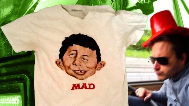 In manischen Phasen trug Manuel unbewusst oft das T-Shirt mit der Aufschrift «Mad».