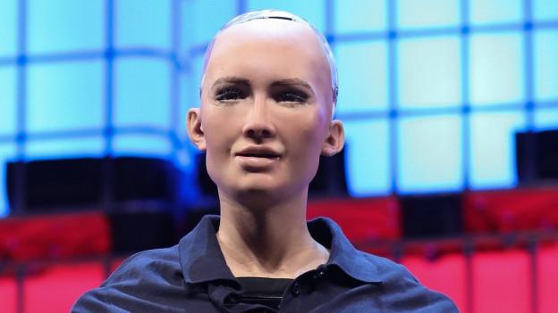 Sophia - der humanoide Roboter