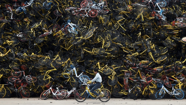 Bikesharing in China