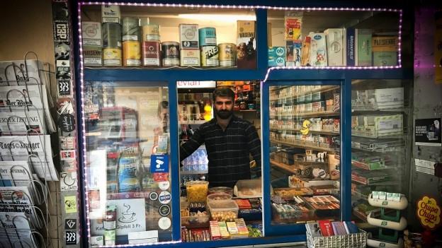 Kioskinhaber Sedat Yildirim