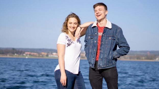 «Er ist mein bester Kollege und mein Bruder» Sarah über ihren jüngeren Bruder Nicola.