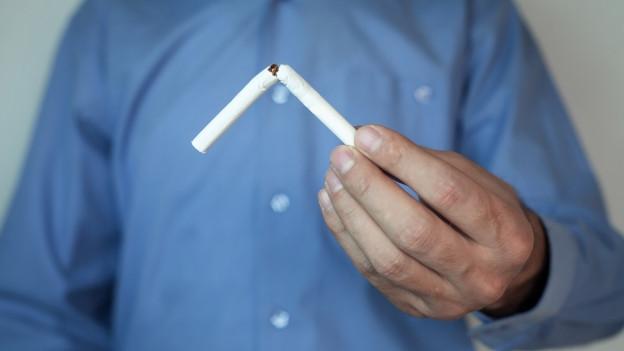 Die Mehrzahl der Raucherinnen und Raucher möchten eigentlich aufhören. Nur klappt es oft nicht beim ersten Mal.